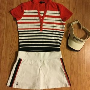 Tennis outfit plus free US Open hat